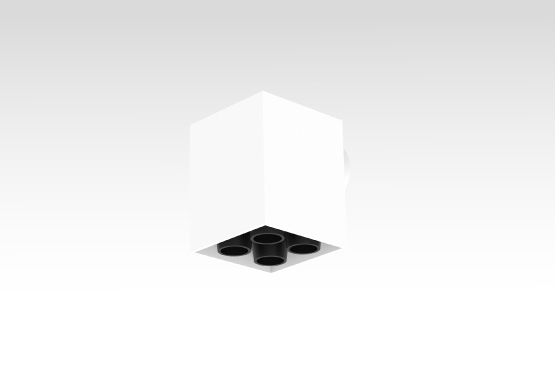 Cube 4 Wall Mount